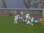 ゴール前の横浜F・マリノスイレブン