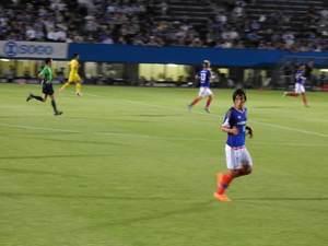 横浜F・マリノスキャプテン中村俊輔