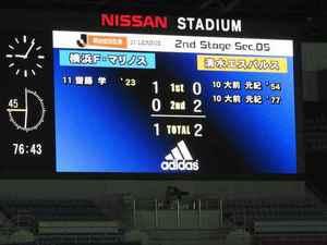 横浜F・マリノス vs 清水エスパルス 1-2
