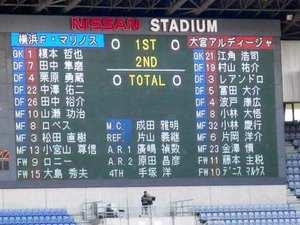 大宮戦0対0