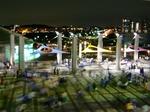 日産スタジアムの夜景