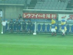 横浜F・マリノスベンチ