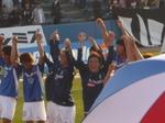 トリパラと横浜F・マリノス勝利の笑顔