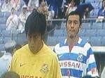 横浜F・マリノスの松田直樹と飯倉大樹