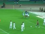横浜F・マリノス坂田大輔のゴールにイレブン喜ぶ