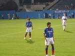 横浜F・マリノスの坂田大輔と渡邉千真