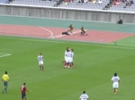 坂田大輔のゴールを喜ぶ横浜F・マリノスの選手たち