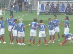 横浜F・マリノス vs 福島ユナイテッドFC 円陣