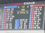 横浜F・マリノス vs 福島ユナイテッドFC 試合開始時点のスコアボード