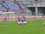 横浜F・マリノスの天皇杯ゴールでの笑顔の選手たち