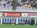 横浜F・マリノスの渡邉千真もお着替え