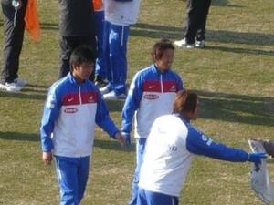 横浜F・マリノスの選手達とのふれあい