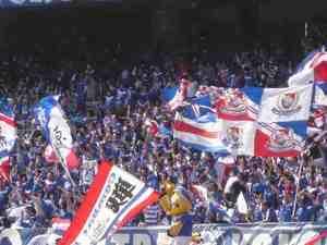 日産スタジアム横浜F・マリノスのゴール裏