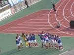 横浜F・マリノス、勝利の歓喜