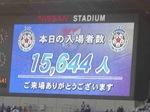 横浜F・マリノス vs セレッソ大阪入場者数15,644人