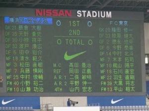 横浜F・マリノス vs FC東京