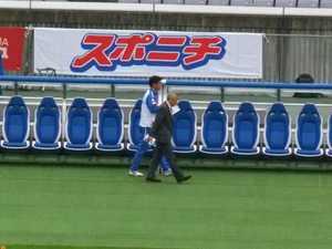 木村和司監督と樋口コーチ