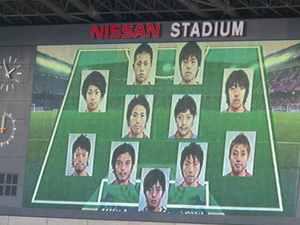 浦和レッズ戦の横浜F・マリノス布陣