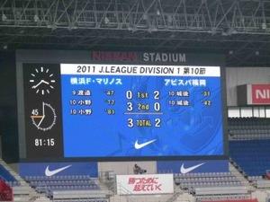 横浜F・マリノス vs アビスパ福岡 3−2