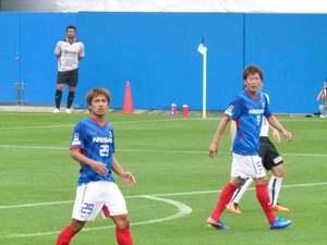 横浜F・マリノスの日本代表候補コンビ
