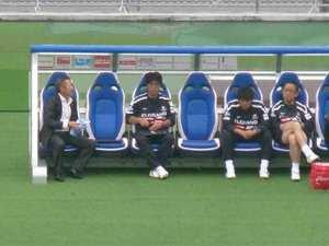 木村和司監督とコーチたち