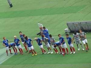 敗戦の横浜F・マリノス