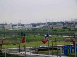 半旗の横浜F・マリノスフラッグ