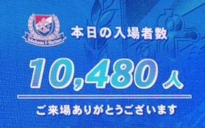 入場者数10480人