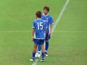 横浜F・マリノスの端戸仁と渡邉千真
