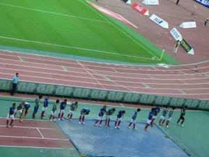 敗戦後の横浜F・マリノス