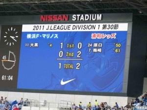 横浜F・マリノス vs 浦和レッズ 1−2