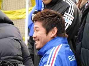 横浜F・マリノスの日本代表栗原勇蔵