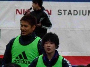 愛媛FC移籍中の松本翔と柏レイソルの谷口博之