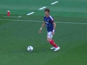日本代表横浜F・マリノス栗原勇蔵