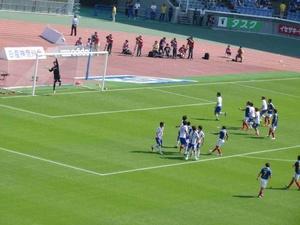 ガンバ大阪戦での横浜F・マリノス中村俊輔のフリーキック