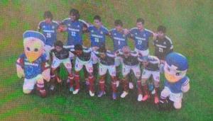 アルビレックス新潟戦の横浜F・マリノス