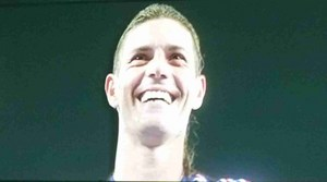 横浜F・マリノスマルキーニョスの笑顔