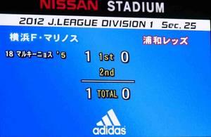 横浜F・マリノス vs 浦和レッズ 1−0