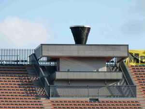 国立競技場の聖火台