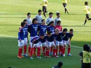 天皇杯準決勝の横浜F・マリノスイレブン