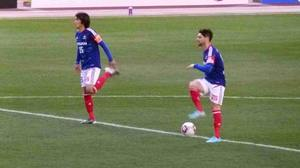 国立競技場の横浜F・マリノス