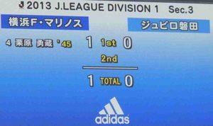 横浜F・マリノス vs ジュビロ磐田 1-0