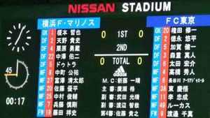 横浜F・マリノスvsFC東京