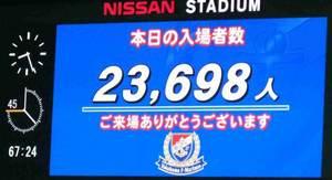 入場者数23,698人