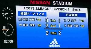 横浜F・マリノスvsFC東京2−2