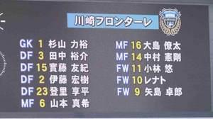 川崎フロンターレ先発