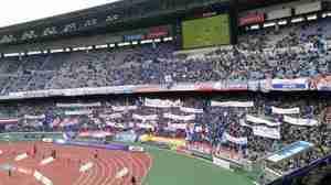 横浜F・マリノスゴール裏サポーター