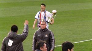 天皇杯優勝の横浜F・マリノス富澤清太郎