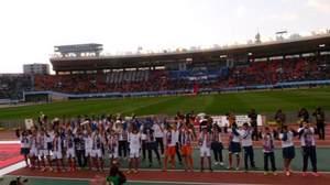 2014年元日の国立競技場