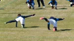 横浜F・マリノス体幹トレーニング